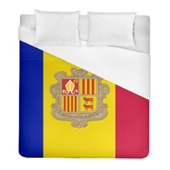 National Flag Of Andorra  Duvet Cover (full/ Double Size) by abbeyz71