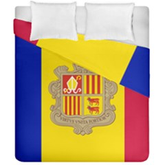 National Flag Of Andorra  Duvet Cover Double Side (california King Size) by abbeyz71