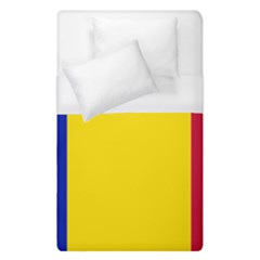 Civil Flag Of Andorra Duvet Cover (single Size) by abbeyz71