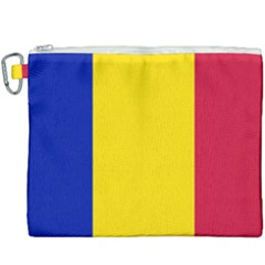 Civil Flag Of Andorra Canvas Cosmetic Bag (xxxl) by abbeyz71