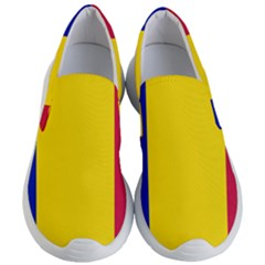 Civil Flag Of Andorra Women s Lightweight Slip Ons by abbeyz71