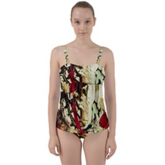 Ireland #1 Twist Front Tankini Set