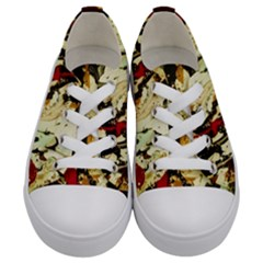 Ireland #1 Kids  Low Top Canvas Sneakers