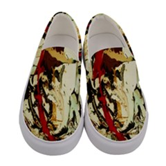 Ireland #1 Women s Canvas Slip Ons