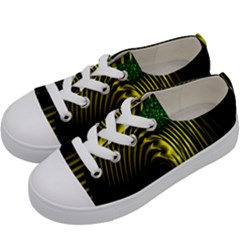 Modern Day Knight Kids  Low Top Canvas Sneakers by girleyjanedesigns