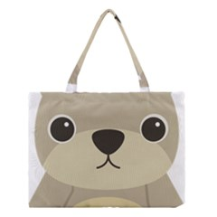 Animal Bear Cartoon Children Kids Medium Tote Bag by Simbadda