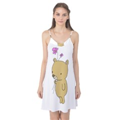 Cute Bear Cartoon Camis Nightgown