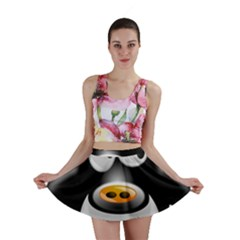 Cow Animal Mammal Cute Tux Mini Skirt