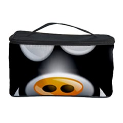Cow Animal Mammal Cute Tux Cosmetic Storage Case