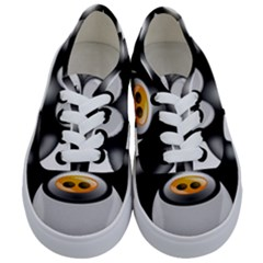 Cow Animal Mammal Cute Tux Kids  Classic Low Top Sneakers