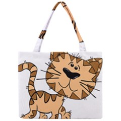 Cats Kittens Animal Cartoon Moving Mini Tote Bag