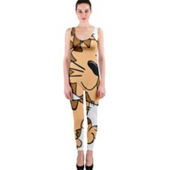 Cats Kittens Animal Cartoon Moving One Piece Catsuit