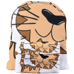 Cats Kittens Animal Cartoon Moving Giant Full Print Backpack