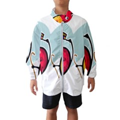 Dancing Fruit Apple Organic Fruit Wind Breaker (kids) by Simbadda