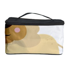 Lion Cute Sketch Funny Cosmetic Storage Case by Simbadda