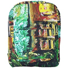 Old Tree And House With An Arch 5 Full Print Backpack by bestdesignintheworld