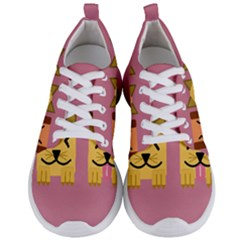 Pet Animal Feline Domestic Animals Men s Lightweight Sports Shoes