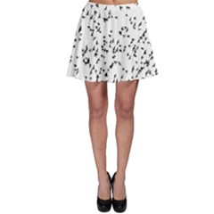 Flock Birds Animals Flying Skater Skirt by Simbadda