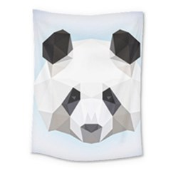 Background Show Graphic Art Panda Medium Tapestry