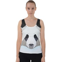 Background Show Graphic Art Panda Velvet Tank Top