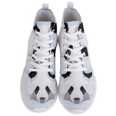 Background Show Graphic Art Panda Men s Lightweight High Top Sneakers