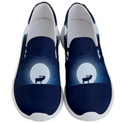 Moon Hirsch Wild Nature Antler Men s Lightweight Slip Ons