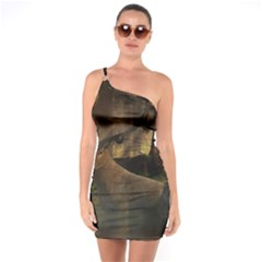 Mammal Nature Wood Tree Waters One Soulder Bodycon Dress