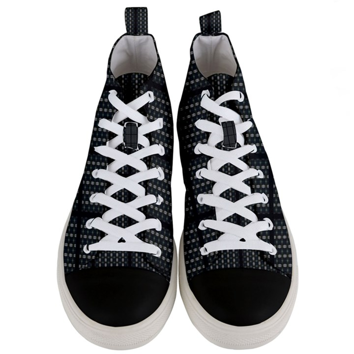 Ability_y Men s Mid-Top Canvas Sneakers