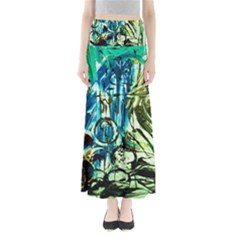 Clocls And Watches 3 Full Length Maxi Skirt by bestdesignintheworld