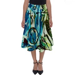 Clocls And Watches 3 Perfect Length Midi Skirt by bestdesignintheworld