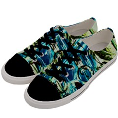 Clocls And Watches 3 Men s Low Top Canvas Sneakers by bestdesignintheworld