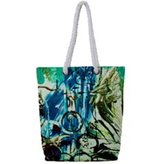 Clocls And Watches 3 Full Print Rope Handle Tote (small) by bestdesignintheworld