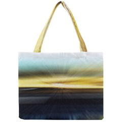 Hunstanton Beach At Summer  Mini Tote Bag by bywhacky