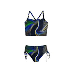 Church Abstract Girls  Tankini Swimsuit