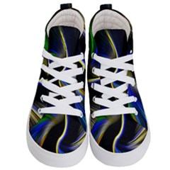 Church Abstract Kid s Hi Top Skate Sneakers
