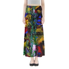 Night At The Foot Of Fudziama 1 Full Length Maxi Skirt by bestdesignintheworld