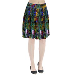 Night At The Foot Of Fudziama 1 Pleated Skirt by bestdesignintheworld