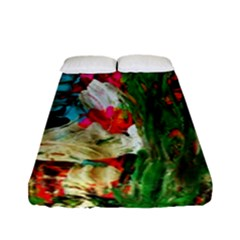 Sunset In A Mountains 1 Fitted Sheet (full/ Double Size) by bestdesignintheworld