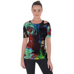 Night At The Foot Of Fudziama 2 Short Sleeve Top by bestdesignintheworld