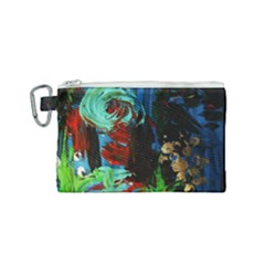 Night At The Foot Of Fudziama 2 Canvas Cosmetic Bag (small)