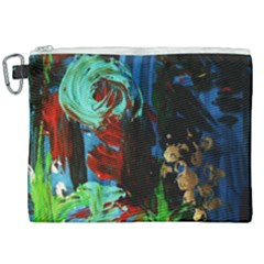 Night At The Foot Of Fudziama 2 Canvas Cosmetic Bag (xxl) by bestdesignintheworld