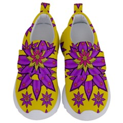 Fantasy Big Flowers In The Happy Jungle Of Love Velcro Strap Shoes by pepitasart