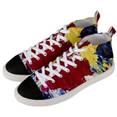 Point Of View #2 Men s Mid Top Canvas Sneakers by bestdesignintheworld