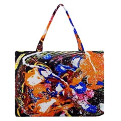 Smashed Butterfly Zipper Medium Tote Bag by bestdesignintheworld