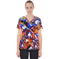 Smashed Butterfly Scrub Top
