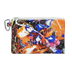 Smashed Butterfly Canvas Cosmetic Bag (large) by bestdesignintheworld