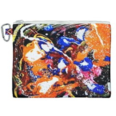 Smashed Butterfly Canvas Cosmetic Bag (xxl) by bestdesignintheworld