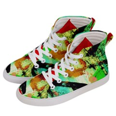 Humidity 4 Women s Hi-top Skate Sneakers by bestdesignintheworld