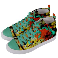 Fragrance Of Kenia 9 Women s Mid Top Canvas Sneakers by bestdesignintheworld