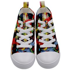 Enigma 3 Kid s Mid Top Canvas Sneakers